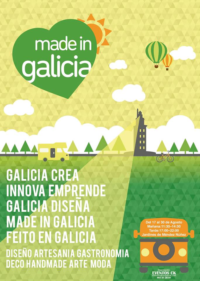 cartel made in galicia 2015