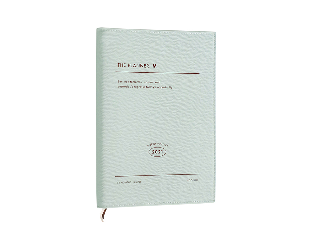 Agenda 2021 Iconic The Planner M - Mint