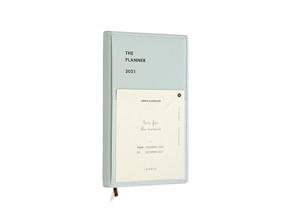 Agenda 2021 Iconic The Planner S - Mint