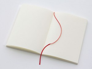 midori notebook blank pages