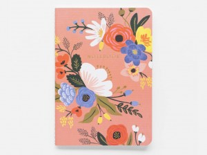 libreta lively floral rifle paper co
