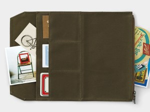 Traveler Notebook Cotton Zipper Case